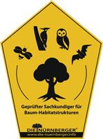 Siegel für Geprüfter Sachkundiger für Baum-Habitatstrukturen